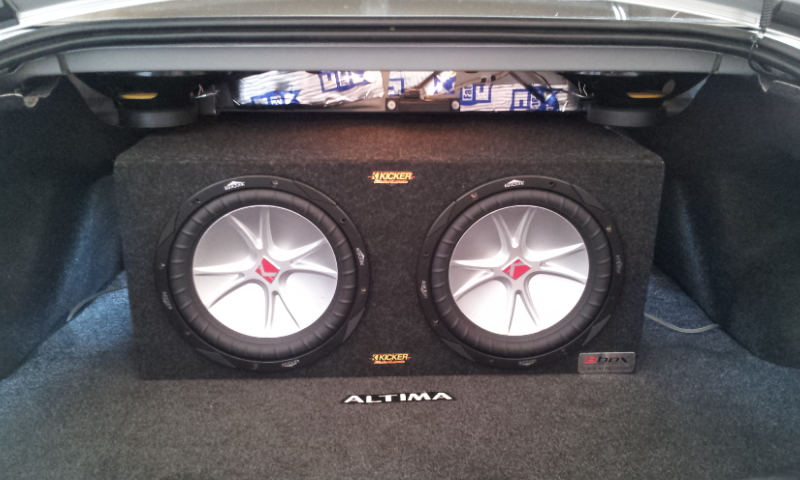 My Component Speaker Install 2008 Altima Coupe Nissan